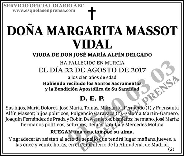 Margarita Massot Vidal